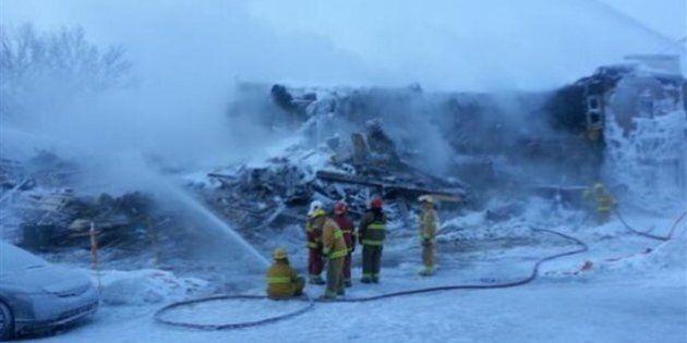 Incendie majeur à Donnacona : une dizaine de locataires à la