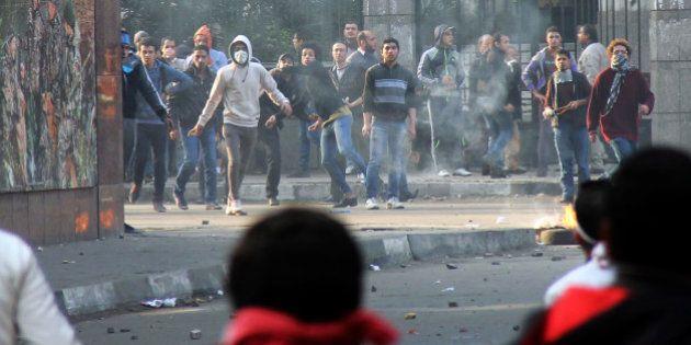 Troisième anniversaire de la révolte égyptienne: au moins 29 personnes perdent la