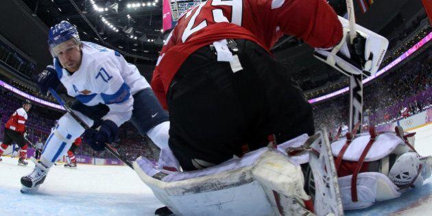Sotchi 2014: la Finlande défait l'Autriche 8-4 en hockey
