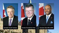 Trois sénateurs visés par des dépenses