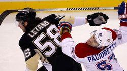 Les Penguins l'emportent sur le Canadien 5-1