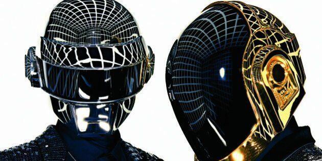 Le duo français Daft Punk en pleine lumière aux Grammy Awards ce