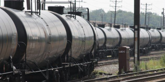 Empty railroad tank cars snake their way into a storage yard in Newark, Delaware, July 28, 2013 The cars will return to North Dakota's Bakken region to be loaded with crude oil for another trip to the refinery at Delaware City, Delaware. With a shortage of new pipeline capacity, oil producers have been using rail as an alternative, and in some cases it's the preferred mode. (Curtis Tate/MCT via Getty Images)