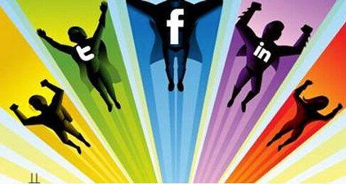 Champions des médias sociaux? Je n'en peux
