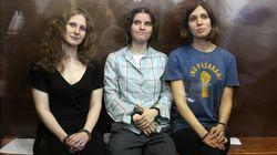 Deux membres du groupe Pussy Riot participeront à un concert à