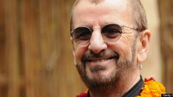 Ringo Starr reçoit un prix spécial des mains du réalisateur David