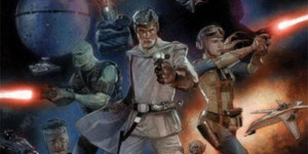 «The Star Wars», le script original de George Lucas, prend vie en bande