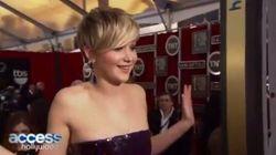 Jennifer Lawrence apprend la fin de «Homeland» sur le tapis rouge