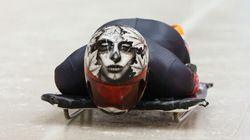 Sotchi 2014 : un aperçu des casques les plus originaux au skeleton