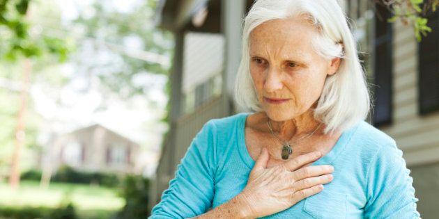 Les femmes souffrant d'un infarctus sont souvent diagnostiquées avec une crise
