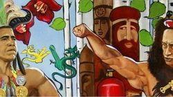 Poutine et Obama peints nus: un musée fermé à Saint-Pétersbourg
