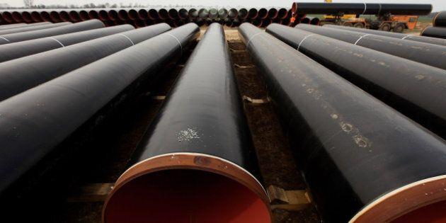 Pipeline d'Enbridge: audiences suspendues pour «la sécurité des