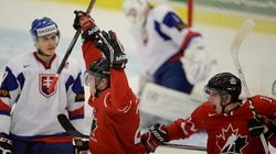 Hockey junior : Le Canada a eu chaud, mais remporte la