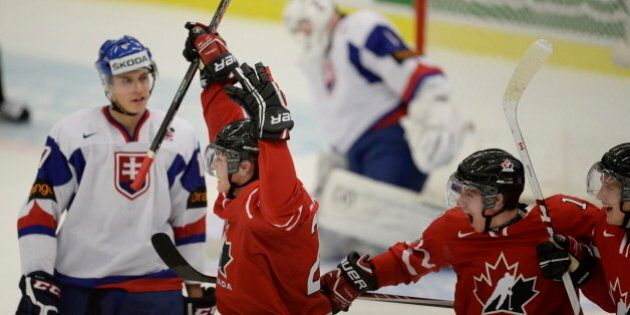 Hockey junior : Le Canada a eu chaud, mais remporte la victoire contre la