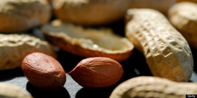 Manger des arachides enceinte ne déclencherait pas d'allergie chez
