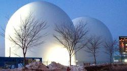 L'installation du second silo est complétée à l'anse au Foulon à