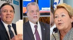 Intentions de vote dans la région de Québec: la CAQ recule, le PLQ en