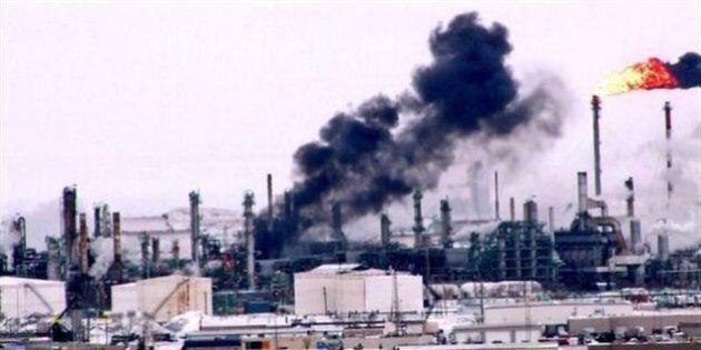 Une explosion survient à la raffinerie Co-op de