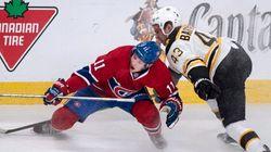 Les Bruins viennent facilement à bout du Canadien