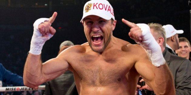 Boxe : Kovalev toujours