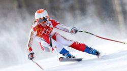 Marie-Michèle Gagnon chute en slalom du