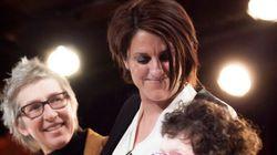 La candidate controversée de Pauline Marois présente ses