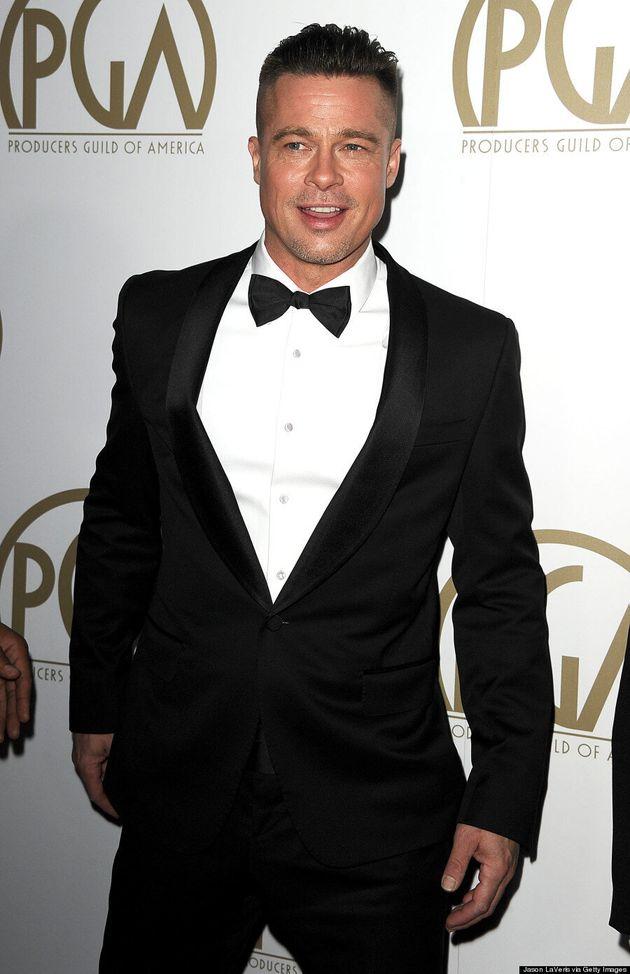 La nouvelle coupe de cheveux de Brad Pitt