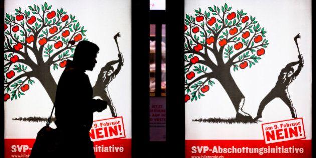 Les Suisses ont approuvé à 50,4% la fin de l'«immigration de