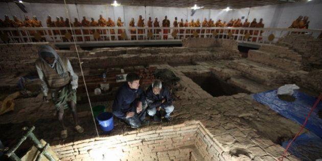Découverte du plus vieux sanctuaire bouddhiste au