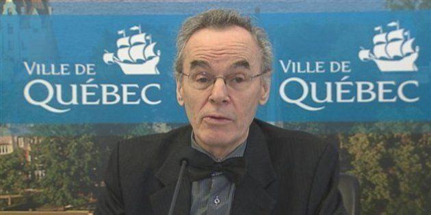 Denis Coderre confirme l'arrivée d'Alain Marcoux comme directeur général de