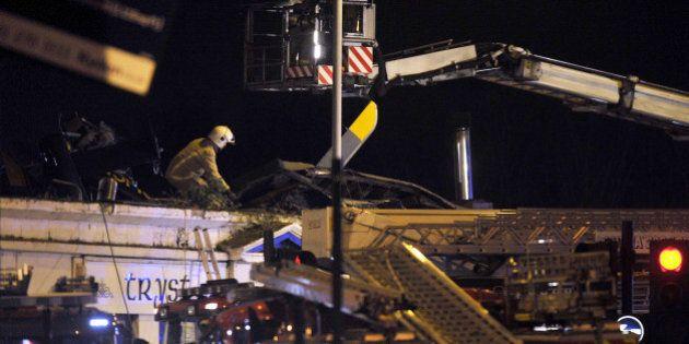 Huit personnes perdent la vie après l'écrasement d'un hélicoptère à Glasgow, en