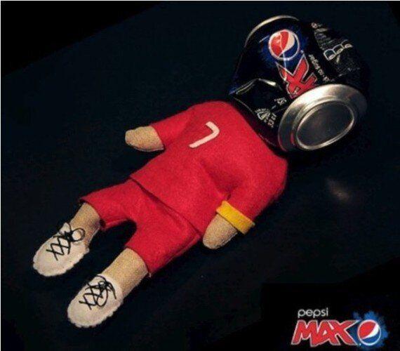 Pepsi s'excuse pour ses publicités malmenant Cristiano Ronaldo
