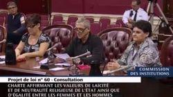 Charte des valeurs: le surprenant témoignage des Pineault-Caron aux audiences publiques