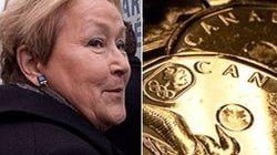 Pauline Marois souhaite le dollar canadien et un siège à la Banque du Canada pour un Québec