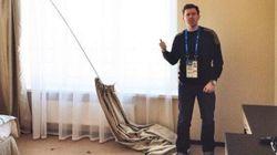 Arrivés dans les hôtels de Sotchi, les journalistes découvrent la face cachée du boom olympique