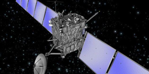 La sonde spatiale Rosetta est bien réveillée et