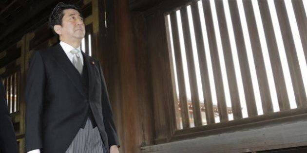 Le premier ministre japonais visite le sanctuaire controversé de