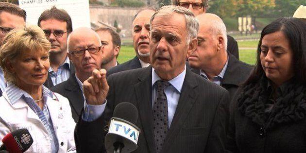 Marcel Côté promet de ne pas hausser les taxes municipales au-delà du taux