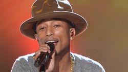 Pharrell Williams chantera «Happy» sur scène lors de la soirée des