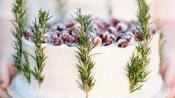 40 idées de gâteaux pour un mariage en hiver