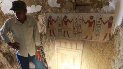 Des archéologues découvrent la tombe d'un pharaon