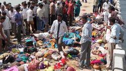 Inde : une bousculade en marge d'une fête religieuse fait 91