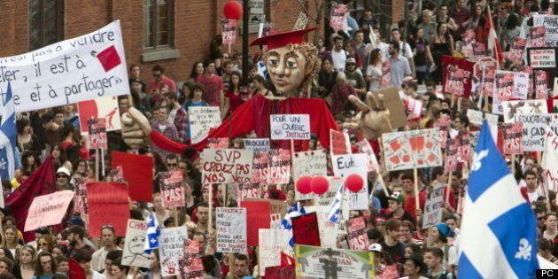 Élections 2014 – Une manifestation étudiante le 3 avril pour ramener les droits de scolarité sous les