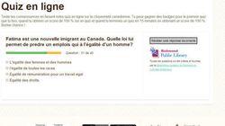 De grossières fautes de français sur un site web financé par Immigration