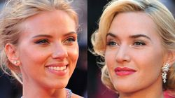 Kate Winslet et Scarlett Johansson posent sans maquillage