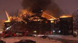 Un incendie majeur ravage un immeuble de