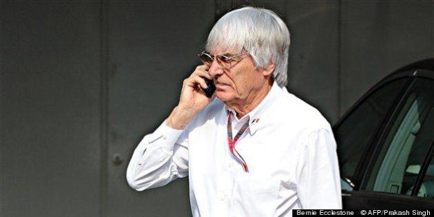 Jugé pour corruption, Bernie Ecclestone prend un peu de