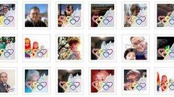Un logo pour soutenir la communauté LGBT russe sur les réseaux