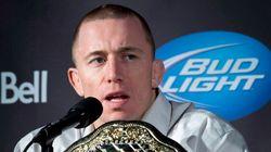 Dopage: Georges St-Pierre envoie une flèche à l'UFC