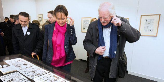Le dessinateur américain Bill Watterson reçoit le Grand Prix de BD